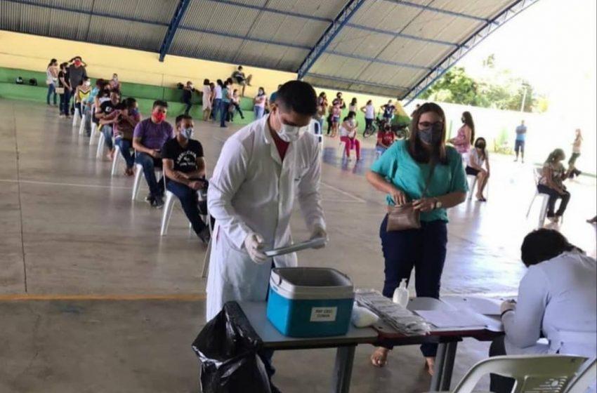 DIA D: Professores são vacinados contra à COVID-19.