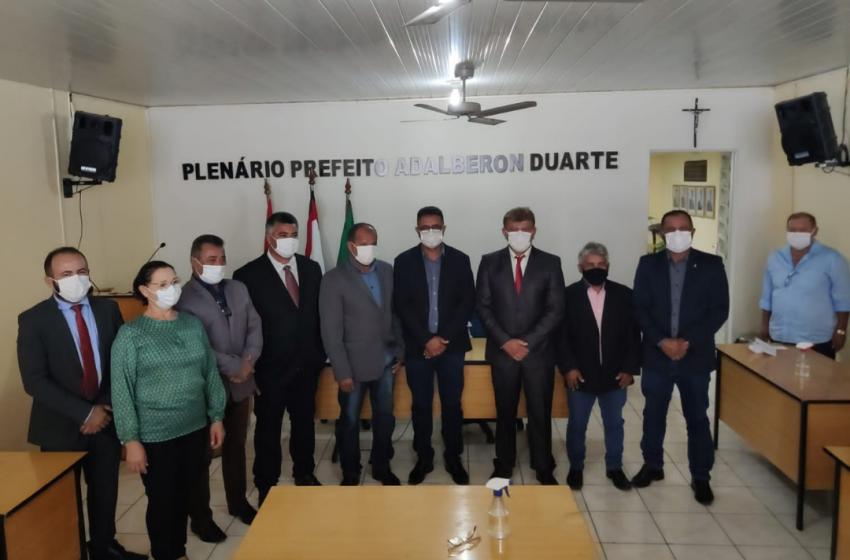 Mario Jorge assume Gestão Municipal
