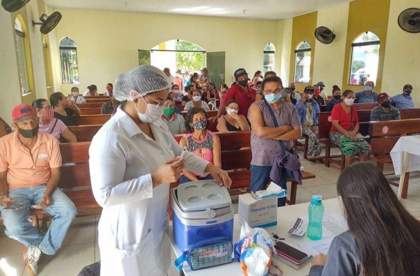 UBS Julita Soares realiza Vacinação contra a COVID-19