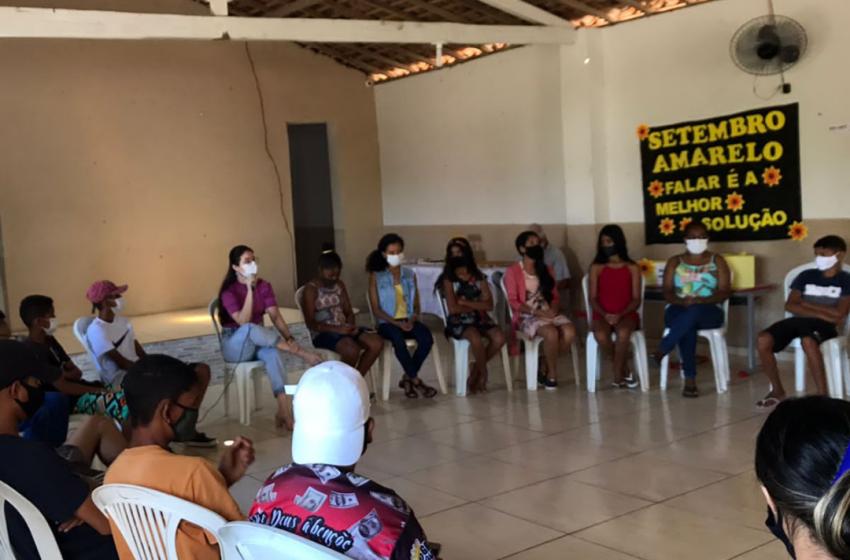 CRAS realiza ação referente ao Setembro Amarelo