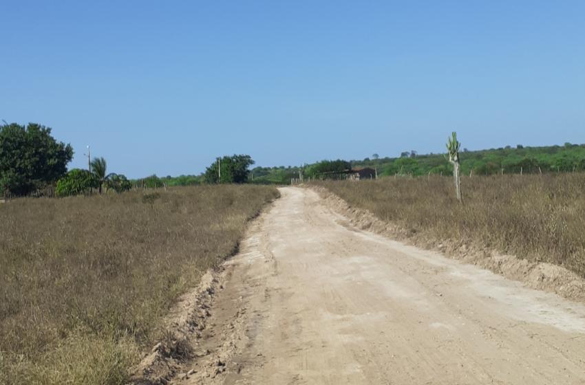Recuperação das estradas vicinais