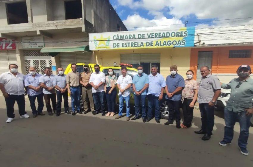 Viatura nova para fortalecer segurança pública em Estrela de Alagoas