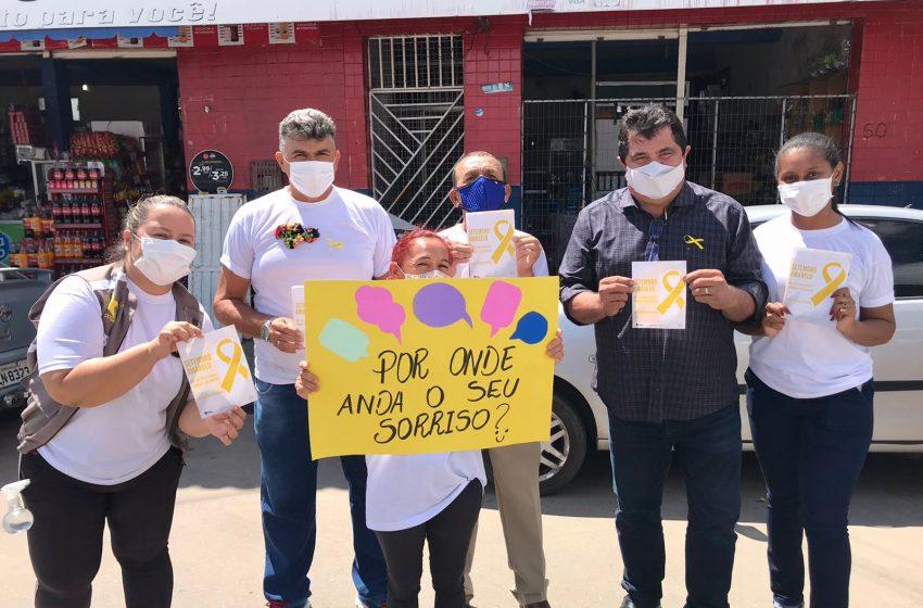 Caps Geraldo Globo faz ação sobre o Setembro Amarelo