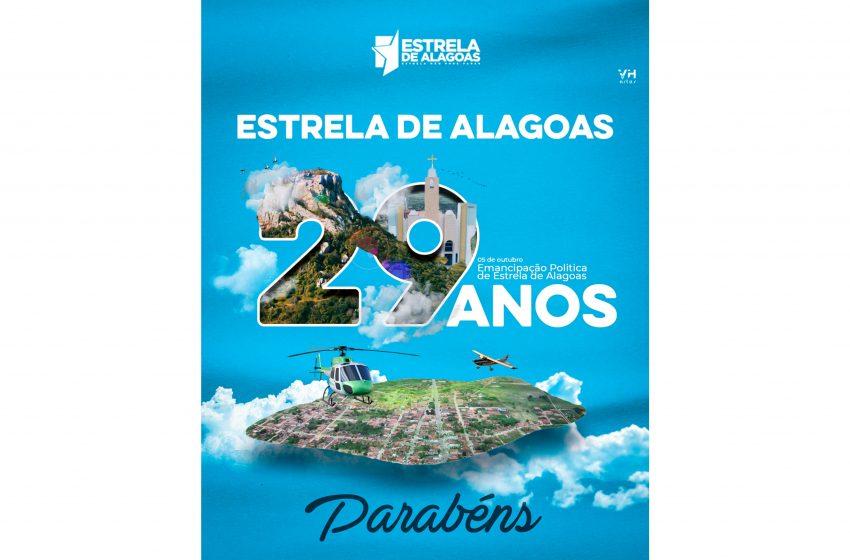 05 de outubro: Emancipação Política de Estrela de Alagoas